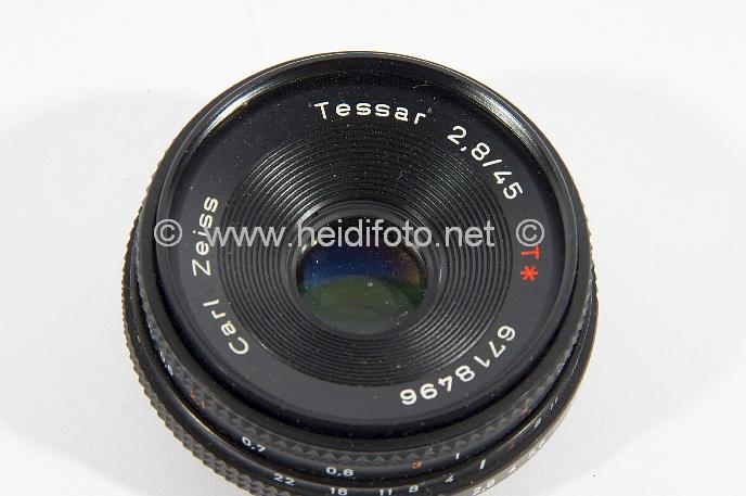 45/2.8 Zeiss Tessar für Contax AX RX RTS I II III 167 etc...