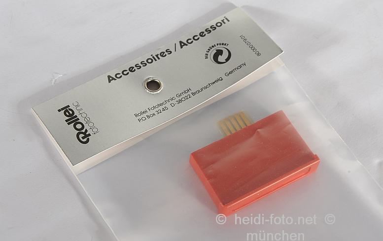 Rollei Chip Modul rot Speicherchip für 300 Dias f.Diaprojektor NEUWARE