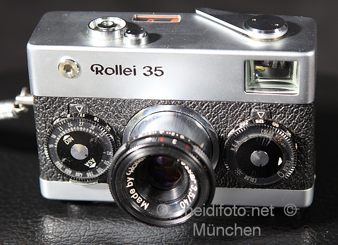 Rollei 35 in silber silver TOP !