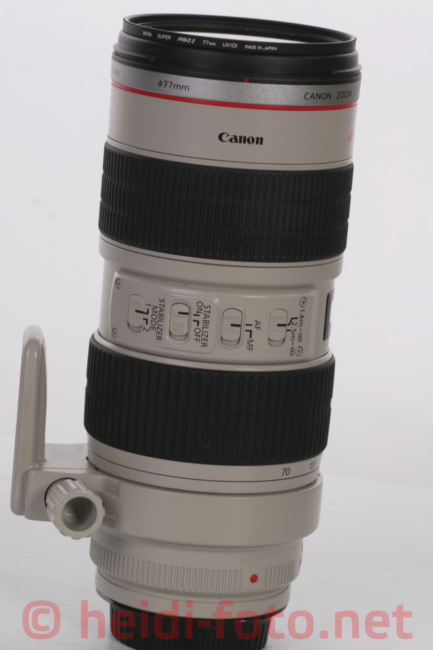 70-200/2.8 L IS USM EF CANON - top condition