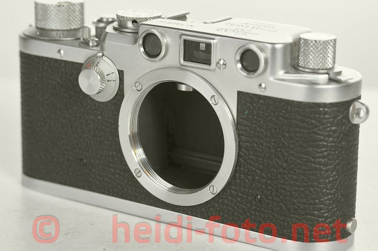 LEICA IIIf body silver Baujahr 1950/51  # 580914 top condition
