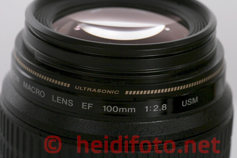 100/2.8 EF USM Canon Macro lens Objektiv top condition !