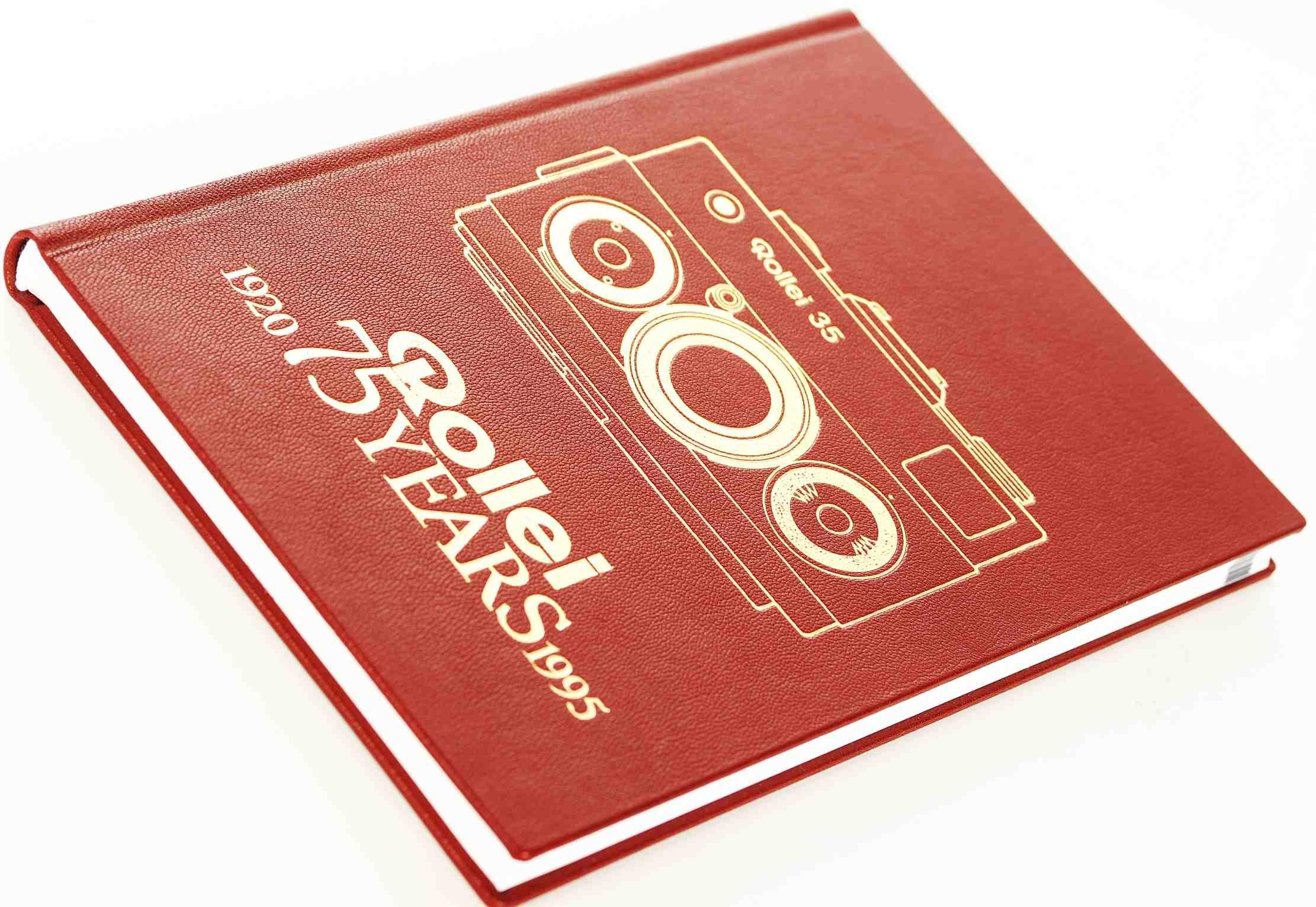 Buch Rollei 35 - 75 Jahre Years -Rolleiflex