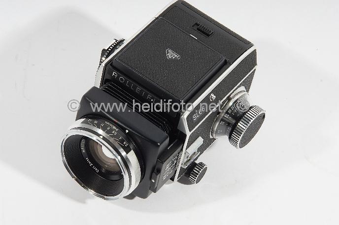 Rolleiflex SL66 mit ZEISS 80/2.8 eine Rollei-Legende in gutem Zustand