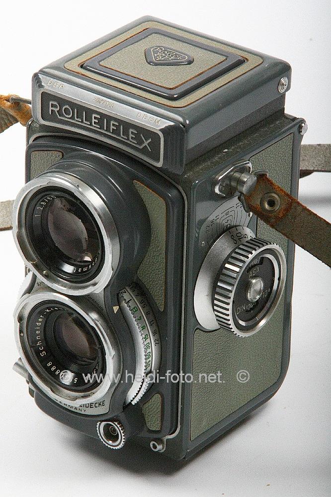 Rolleiflex 4x4 Compur XENAR Schneider Kreuznach 60/3.5