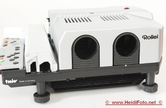 Rollei MSC 325 P twin Rolleivision Diaprojektor Gehäuse w 330P NEU NEW