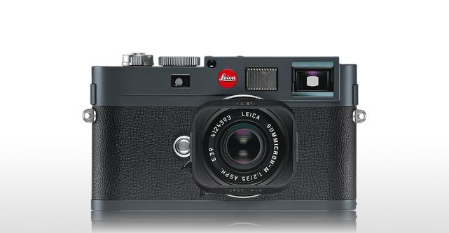 Leica M-E  anthrazit grau lackiert