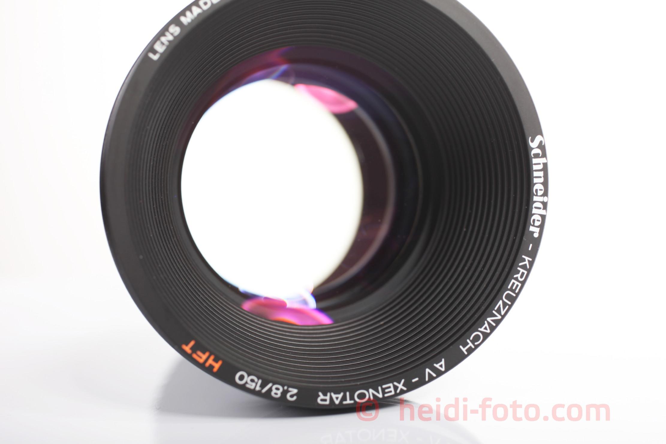 150mm 2,8 AV XENOTAR HFT für Rollei Diaprojektor DUAL 66 P OVP like new