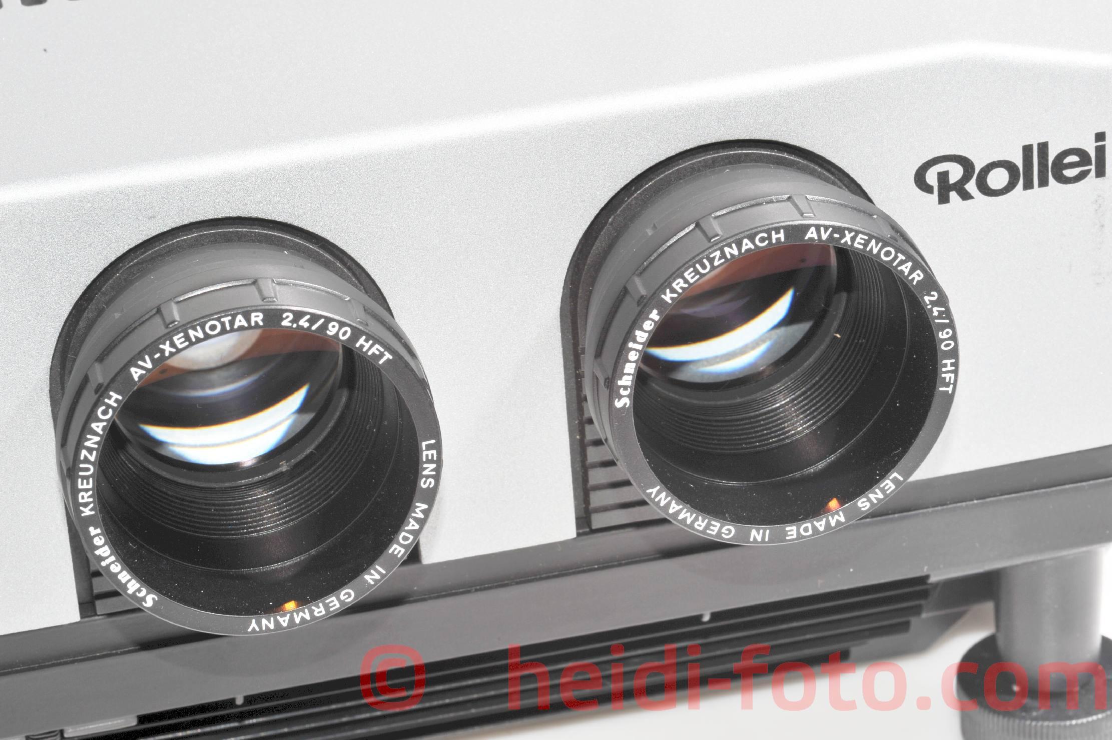 Rollei MSC 310 twin Diaprojektor + 90mm 2,4 XENOTAR - AF IR Fernbedienung