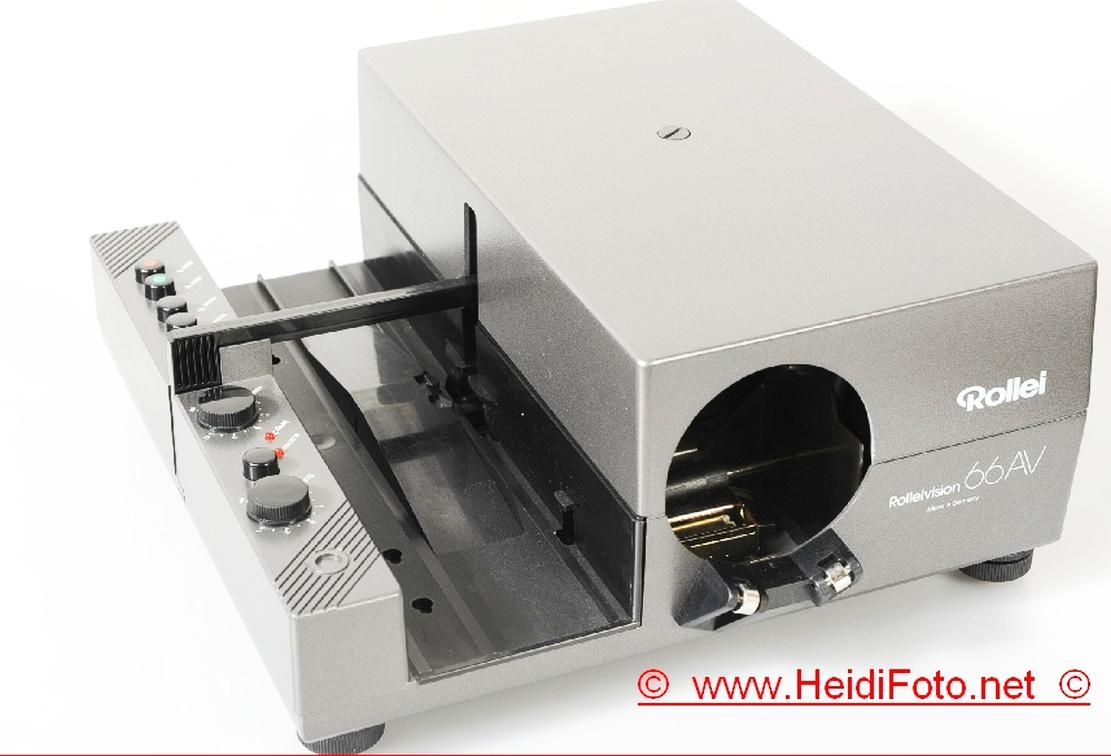 Rolleivision 66 AV AF Rollei Diaprojektor Gehäuse 250W HLX