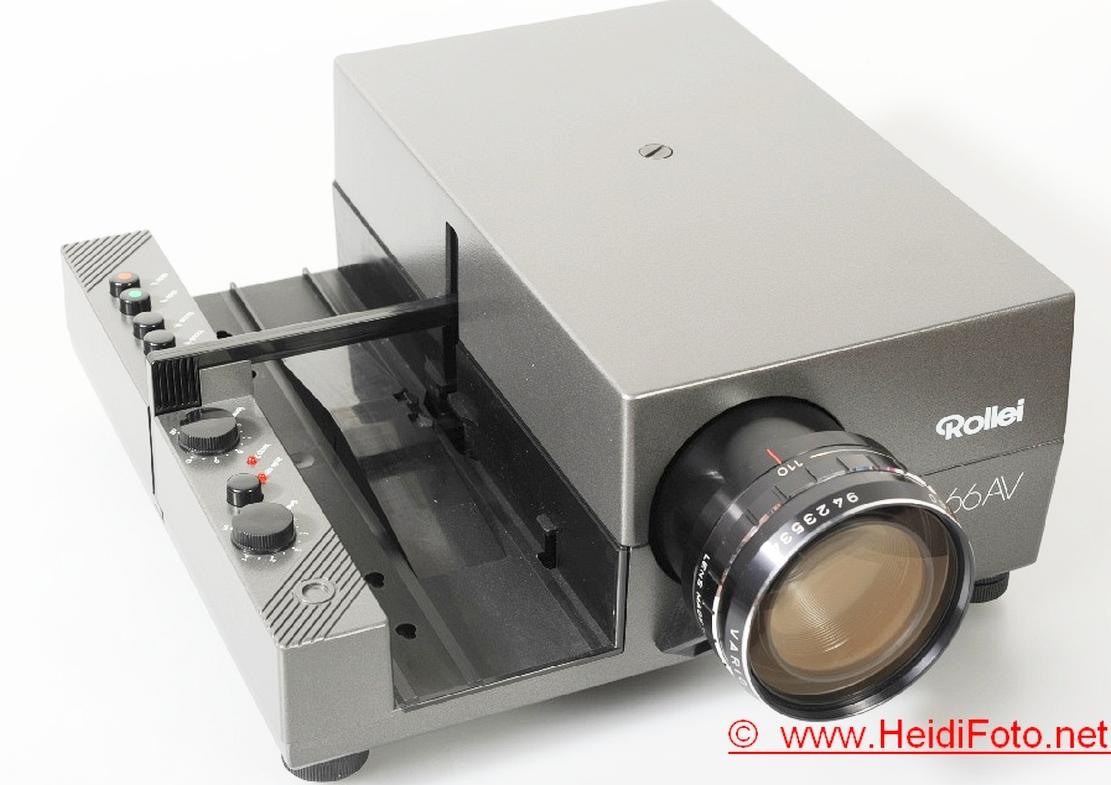 Rolleivision 66 AV AF Diaprojektor mit 110-160mm 3,5 Vario Objektiv