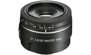 30/2.8 MACRO Sony  30M28 α-Objektiv für Digitalkameras